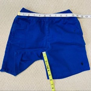 POLO Blue Elastic Waistband Shorts - Size 7